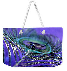Peacock Spirit Weekender Tote Bag
