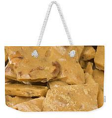 Peanut Brittle Closeup Weekender Tote Bag