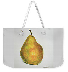 Pear Practice Weekender Tote Bag by Marna Edwards Flavell