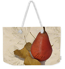 Pear Square Weekender Tote Bag