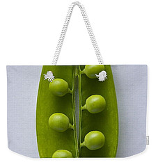 Peas In A Pod 2 Weekender Tote Bag by Sean Griffin