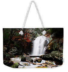 Peavine Falls In Autumn Weekender Tote Bag by Shelby  Young