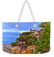 Pebble Beach Ca Weekender Tote Bag