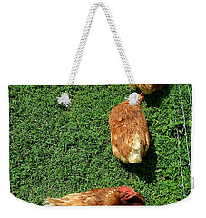 Pecking Order Weekender Tote Bag