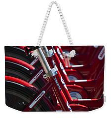 Pedal Power Weekender Tote Bag