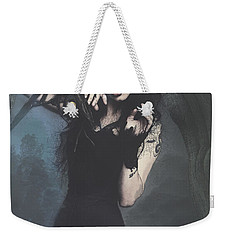Peek Gothic Scene Weekender Tote Bag by Galen Valle