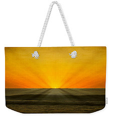 Peeking Over The Horizon Weekender Tote Bag
