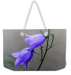 Blue Bells Peeking Through The Mist Weekender Tote Bag