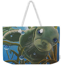 Peepers Weekender Tote Bag by Dianna Lewis