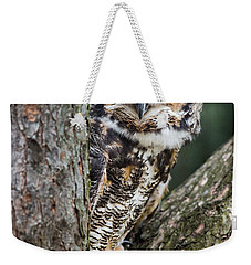 Peering Out Weekender Tote Bag