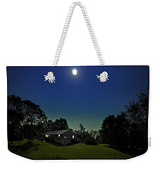 Weekender Tote Bag featuring the photograph Pegasus And Moon by Greg Reed