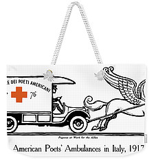 Pegasus At Work For The Allies Weekender Tote Bag