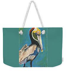Pelican Blue Weekender Tote Bag