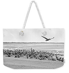 Pelican Convention  Weekender Tote Bag by Betsy Knapp