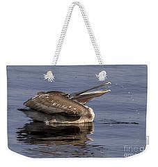 Pelican Fountain  Weekender Tote Bag by Meg Rousher