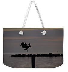 Pelican Landing Weekender Tote Bag by Leticia Latocki
