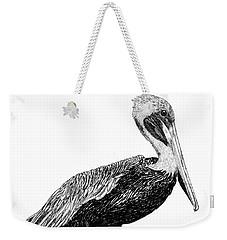 Pelican Of Monterey Weekender Tote Bag by Jack Pumphrey
