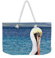 Pelican Portrait Weekender Tote Bag