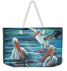 Pelican Profile Weekender Tote Bag by Peter Suhocke