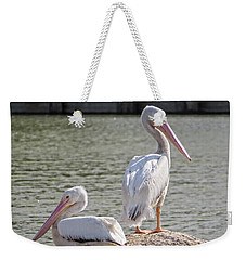 Pelicans By The Pair Weekender Tote Bag