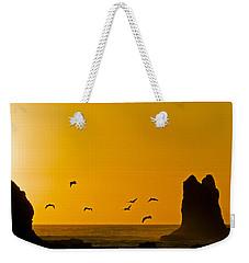 Pelicans On The Wing II Weekender Tote Bag