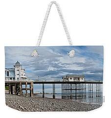 Penarth Pier Panorama 1 Weekender Tote Bag