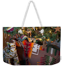 Weekender Tote Bag featuring the photograph Pendleton Christmas by Patricia Babbitt