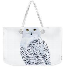 Penetrating Stare Weekender Tote Bag