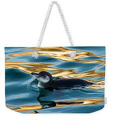 Penguin Watercolor 2 Weekender Tote Bag by David Beebe