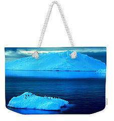 Penguins On Iceberg Weekender Tote Bag