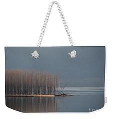 Peninsula Of Trees Weekender Tote Bag by Leone Lund