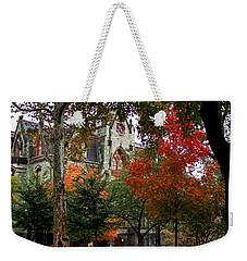Penn In The Rain Weekender Tote Bag by Rona Black