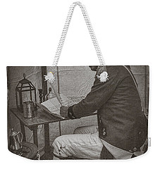 Penning A Letter To King George The Third   Weekender Tote Bag