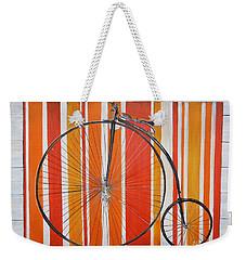 Penny-farthing Weekender Tote Bag