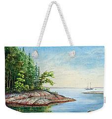 Penobscot Inlet Weekender Tote Bag