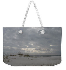 Weekender Tote Bag featuring the photograph Pensacola Beach After Storm  by Christiane Schulze Art And Photography
