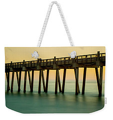 Pensacola Beach Fishing Pier Weekender Tote Bag
