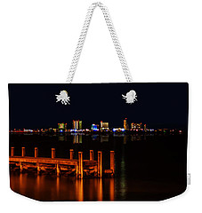 Pensacola Beach Reflections Weekender Tote Bag