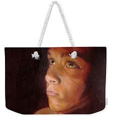 Penumbra Weekender Tote Bag by Cherise Foster