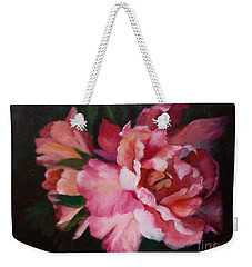 Peonies No 8 The Painting Weekender Tote Bag