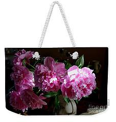 Peonies2 Weekender Tote Bag