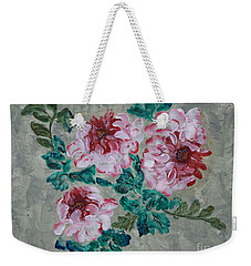 Peony Blossoms Floral Garden Art Walk Weekender Tote Bag