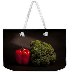 Pepper Nd Brocoli Weekender Tote Bag