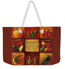 Pepper Facts  Weekender Tote Bag