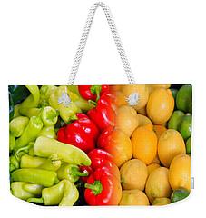 Peppers To Pucker Weekender Tote Bag