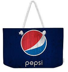 Pepsi Barn Sign Weekender Tote Bag by Dan Sproul