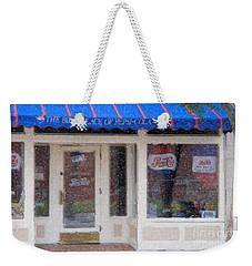 Pepsi Cola Birthplace Watercolor Weekender Tote Bag