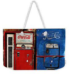 Pepsi Weekender Tote Bag by Mary Machare