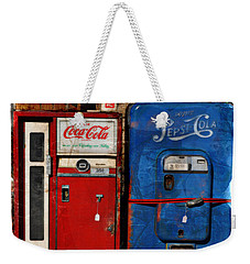 Pepsi Vs Coke Weekender Tote Bag