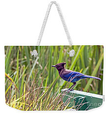 Perching Jay Weekender Tote Bag